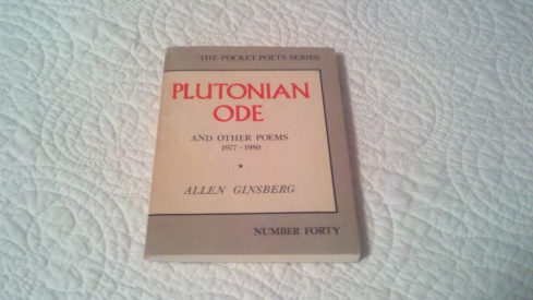 Plutonian Ode Front Cover