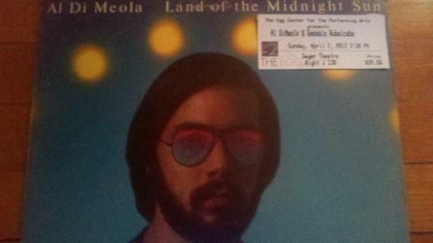 Al Di Meola Ticket & LP