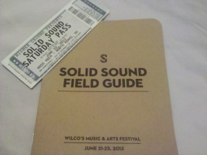 2013 Solid Sound Field Guide